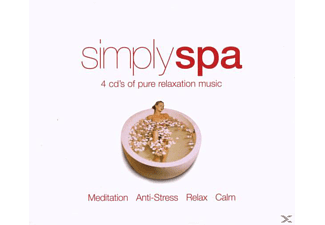 VARIOUS - Simply Spa - (CD)