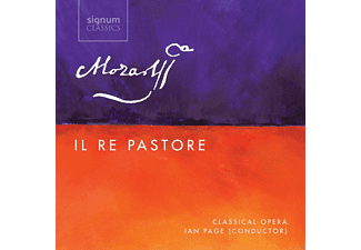 Ian Page, VARIOUS - Il Re Pastore K.208 - (CD)