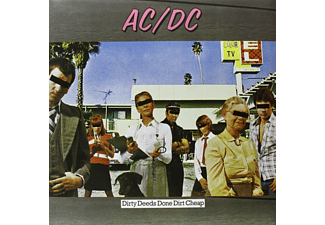 AC/DC - Dirty Deeds Done Dirt Cheap - Limited Edition (Vinyl LP (nagylemez))