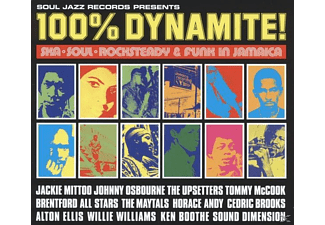 VARIOUS - 100% Dynamite!-Ska, Soul, Rocksteady & Funk In Jamai - (LP + Download)