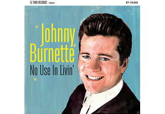 Johnny Burnette - No Use In Livin' - (EP (analog))