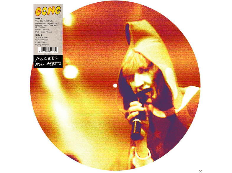 Gong - Access All Areas [Vinyl]