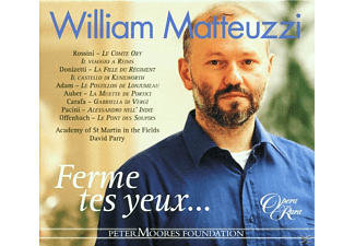 William Matteuzzi - Ferme Tes Yeux... - (CD)
