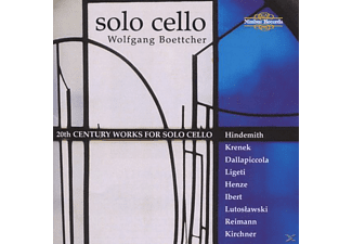 Wolfgang Boettcher - Works For Cello Solo - (CD)