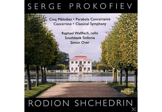 WALLFISCH,RAPHAEL & OVER,SIMON, Wallfisch/Over/Southbank Sinfonia - Prokofiev:5 Melodies Cello Version - (CD)