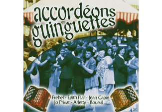 VARIOUS - Accordeons Et Guingettes - (CD)