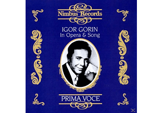 VARIOUS, Igor Gorin - Gorin In Opera & Song/Prima Voce - (CD)