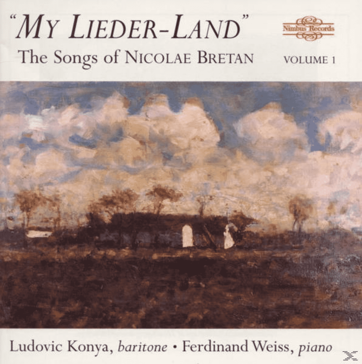 KONYA,LUDOVIC/WEISS,FERDINAND - MY LIEDER LAND VOL.1 - (CD)