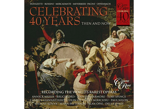 Larmore, Ford, Massis, Giannattasio, Miricio - Then And Now-40 Jahre Opera Rara - (CD)