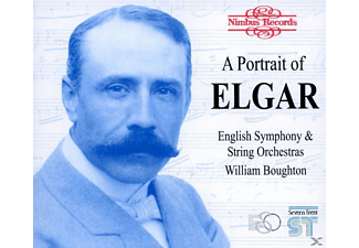 William Boughton, English Symphony Orchestra, William/english Symphony Orchestra Bougthon - Portrait Of Elgar - (CD)