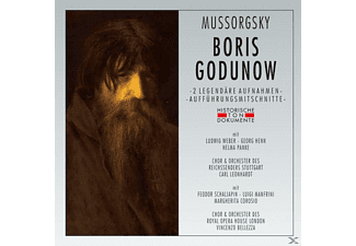 Chor des Reichssenders Berlin, Royal Opera House Covent Garden Orchestra, VARIOUS - Boris Godunow - (CD)