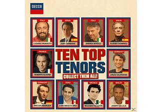 VARIOUS - Ten Top Tenors - (CD)