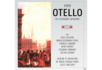 Jules Gressier, Choeur Et Orch.Radio-Lyrique Paris - Otello (Qs) - (CD)