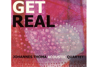 Johannes Thoma Acoustic Quartet - Get Real - (CD)