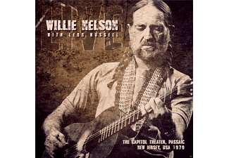 Willie Nelson, Leon Russell - Capitol Theater, Passaic, New Jersey 1979 - (CD)