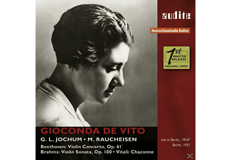 VARIOUS, Rias Symphonie Orchester, Gioconda De Vito - The Rias Recordings-Berlin 1951/54 - (CD)