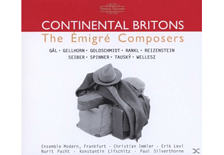 Ensemble Modern, VARIOUS, Levi, Pacht - Continental Britons - (CD)