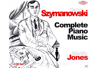Martin Jones - Szymanowski Piano Music Cpl. - (CD)