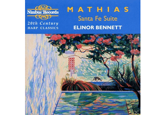 Elinor Bennett - Mathias Santa Fe Suite - (CD)