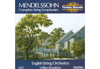 William Boughton, English String Orchestra - Streichersinfonien Vol.1 - (CD)