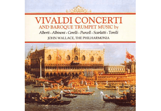 Philharmonia, Wallace - Trumpet Concerti - (CD)
