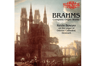 Kevin Bowyer - ORGAN WORKS - (CD)