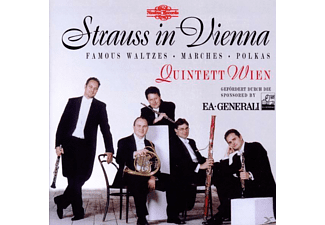 Quintett Wien - Strauss In Vienna - (CD)