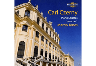 Martin Jones - Czerny Piano Sonatas Vol.1 - (CD)
