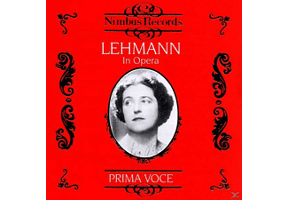 VARIOUS, Lotte Lehmann - Lehmann In Opera Vol.1 - (CD)
