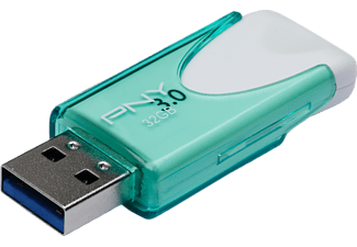 PNY FD32GATT430-EF Attaché 4, USB-Stick, USB 3.0, 32 GB