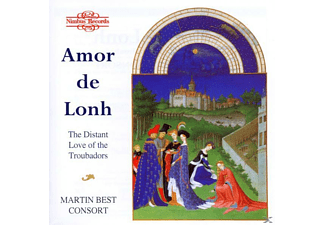 Martin Best Consort - Amor De Lonh/Troubadors Songs - (CD)