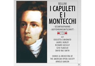 Chorus & Orch.Of The American Opera Society - I Capuleti E I Montecchi - (CD)