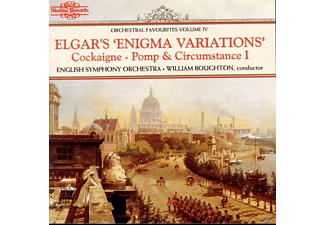 William Boughton, English String Orchestra - Enigma Variations - (CD)