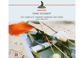 John Damgaard - The Complete For Piano (Schubert, Franz) - (CD)
