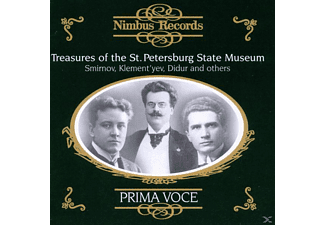 Smirnov, Sobinov/Maksakov/Yuzhin(Smirnov/+ - Treasures Of The Petersburg State - (CD)