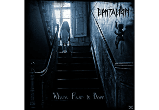 Dantalion - Where Fear Is Born - (CD)