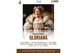 Sarah Walker, Jean Rigby, Mark Elder - Gloriana - (Blu-ray)