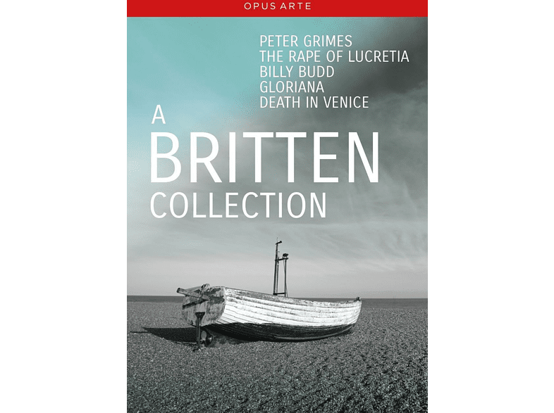 VARIOUS, La Scala Orchestra, English National Opera Orchestra, The London Philharmonic Orchestra, Orchestra Of The Royal Opera House - A Britten Collection [DVD]