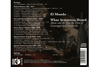 Richard Savino - What Artemisia Heard [CD]