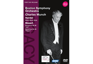 Boston Symphony Orchestra, Charles Boston Symphony Orchestra & Munch - Wasser Musik Suite/Sinfonien 36+38 - (DVD)