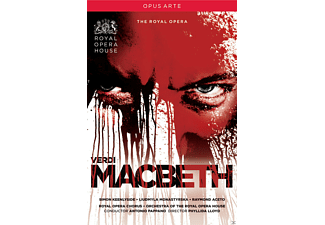 Simon Kennlyside, Liudmyla Monastyrska, Raymond Aceto, Royal Opera Chorus, Orchestra Of The Royal Opera House - Macbeth - (DVD)