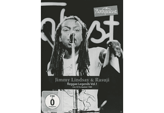 Jimmy Lindsay, Rasuji - Rockpalast-Reggae Legends Vol.1 [DVD]