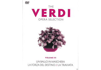 VARIOUS - The Verdi Opera Selection Vol. 3 - (DVD)