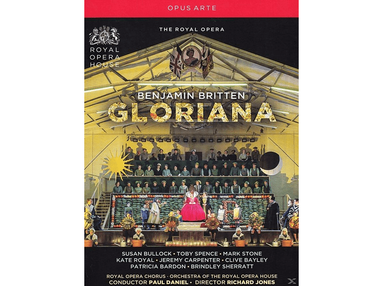VARIOUS, Orchestra Of The Royal Opera House, Royal Opera Chorus - Gloriana [DVD]