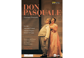Orchestra and chorus of the Teatro Lirico di Cagliari - Don Pasquale - (DVD)