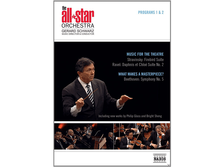 The All-star Orchestra - All Star Orchestra - Programs 1 & 2: Music For The Theatre / What Makes A Masterpiece? [DVD]