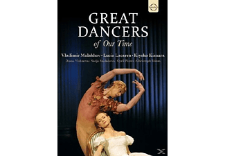 Malakhov, Lacarra, Kimura, Vishne - Great Dancers Of Our Time - (DVD)