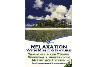 - Blue Planet - Relaxation with Music & Nature 2 (3 DVD Set) - (DVD)