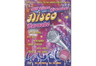 VARIOUS - All Time Greatest Disco Karaoke - (DVD)