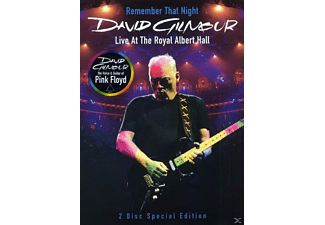 David Gilmour - Remember That Night - Live At The Royal Albert Hall - (DVD)